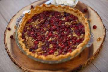Cranberry Pie is seen on Sunday, Nov. 20, 2016, in Bloomington, Indiana. (Photo by James Brosher)