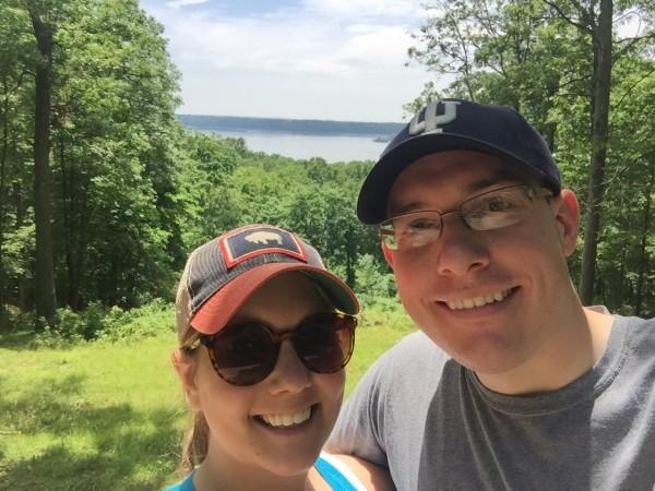 selfie lake monroe
