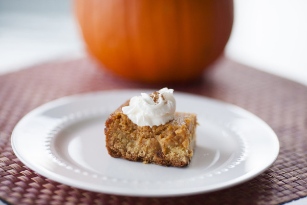 Thanksgiving Pumpkin Bars