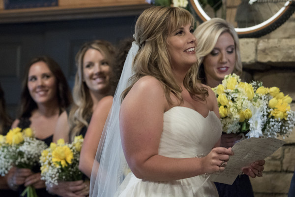 Images from the Brosher-Harrington wedding ceremony at Davis Lodge on Lake Bloomington Saturday, May 30, 2015, in Hudson, Ill. (Stephen Haas)