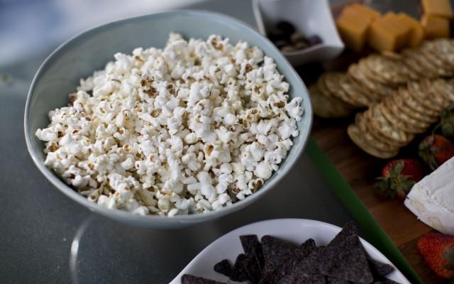 Parmesan Truffled Popcorn