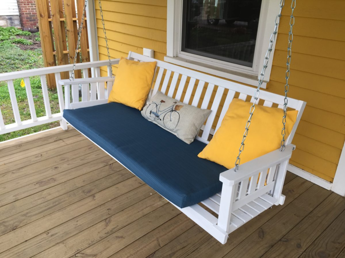 How To Upgrade Your Porch Swing